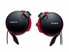 SONY Headphone MDR-Q38LW B Ear hook type Retractable cable Black Japan Import FS