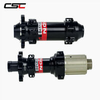 CSC NOVATEC D411SB/D412SB hub straight pull  6 bolt Disc MTB/cyclocross  hub