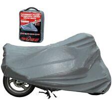 Büse Abdeckplane Gr XXL grau Outdoor Motorrad Roller Faltgarage