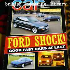 Car 9/92 XR2i Fiesta RS1800 RX-7 Cosworth Corrado VR6 Calibra Turbo Probe GT