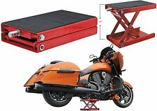 Extreme Max Wide Motorcycle Scissor Jack - 1100 lb Harley-Davidson Free Shipping
