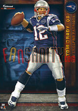38 Tom Brady New England Patriots Fathead Tradeable 2012 NFL