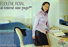 Coupure de Presse Clipping 2007 (6 pages) Ségolène Royal