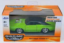 Jada Big Time Muscle 1:35 Scale 1970 Dodge Charger R/T  Diecast Car Green