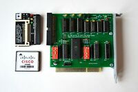 XT-IDE ISA 8-Bit IDE Controller card rev 4 + 256Mb СF Card + СF Adapter