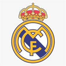 Real Madrid CF UEFA DieCut Vinyl Decal Sticker Buy 1 Get 2 FREE