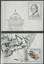 Belgique, België, 2 Blocs timbres  neufs MNH, bien