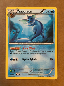 Vaporeon - Uncommon - Pokemon Card - 22/98 - XY Ancient Origins Set - 2015