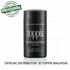 Toppik Hair Building Fiber 3G BLACK (OFFICIAL DISTRIBUTOR MALAYSIA)