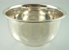 ROUND MAYO BOWL PLAIN 1963 BIRKS STERLING