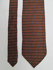-AUTHENTIQUE  cravate cravatte S.T.  DUPONT   100% soie  TBEG  vintage