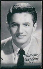 BUDDY GRECO Singer Vtg Billboard Penny Arcade Exhibit Old Vending Card Postcard