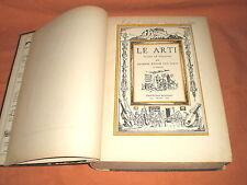 le arti, scritto e illustrato da h. van loon,bompiani 1939