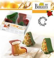 Muffin Backform Silikon Tanne / Stiefel / Weihnachten RBV Birkmann
