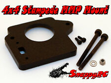 Black 4X4 Stampede MMPS Traxxas Mamba Max Pro Castle Creations ESC Mounting Kit
