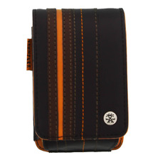 Crumpler Gofer Royale 40 Leather Compact Camera Case - Dark Brown / Dark Orange