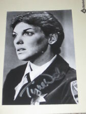Actress TYNE DALY Signed 4x6 THE ENFORCER Photo AUTOGRAPH 1A