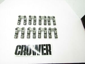CROWER HIGH SEAT SB CHEVY ROLLER LIFTERS .842  CRANE CAMS DRAGRACING #9