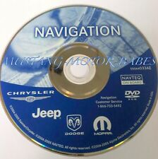JEEP DODGE CHRYSLER PLYMOUTH NAVIGATION DISC DVD CD 033AE NAV GPS DISK MAP
