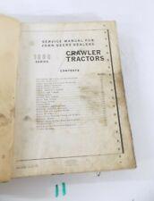 John Deere 1000 Series Crawler Tractor SM-2034 Service Manual  9-61