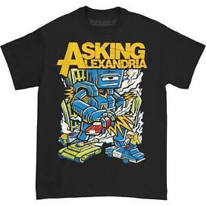 Asking Alexandria Men's  Killer Robot T-shirt Black