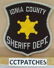 IONIA COUNTY, MICHIGAN SHERIFF (POLICE) SHOULDER PATCH MI