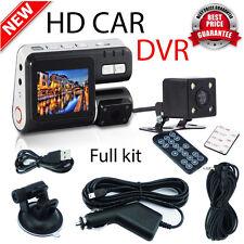 1080P HD Dual Lens Car Camera DVR Vehicle Dashboard Video Recorder G Sensor Cam