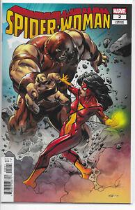 Spider-Woman #2 Mike Hawthorne Villains Variant 1st Print NM/NM+ Marvel 2020