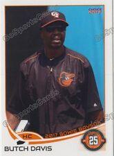 2017 Bowie Baysox Butch Davis Baltimore Orioles HC