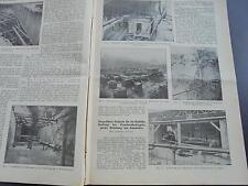 1914 Baugewerkszeitung 19 / Berlin Grundwasser Museumsinsel Charlottenburg T. 2