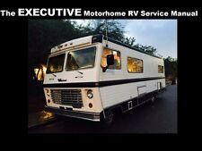 The EXECUTIVE MOTORHOME OPERATIONS MANUALS 415pg for RV Camper Service & Repair