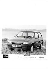 ROVER METRO 1.1C PRESS PHOTO MAY 1990 ' BROCHURE' CONNECTED