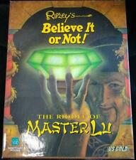 Ripley's Believe It or Not! The Riddle of Master Lu PC CD-ROM Big Box ✰NEU✰