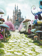 Alice in Wonderland Backdrop Photography background studio Photo Prop 3X5FT 6695