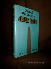 """Jules BOUC"" Daniel BOULANGER envoi signé signed inscribed à Antoine TERRASSE !"