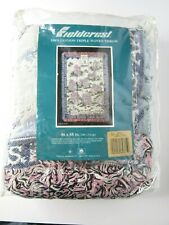 Vintage Liberty Falls Americana Collection Afghan Throw Fieldcrest 46x68 Inches