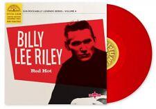 "Billy Lee Riley – Red Hot Red Vinyl 10"" LP"
