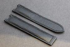 BAUME & MERCIER Band/Leather Strap 19x17mm Requin/Shark