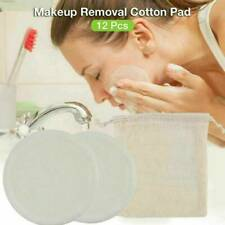 Bamboo Cotton Reusable Makeup Remover Pads Washable Facial Cleansing Wipe Pads