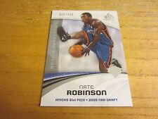 Nate Robinson 2005-06 SP Game Used #113 ROOKIE Serial #d 068/999 Card NBA Knicks