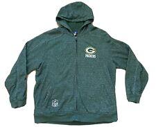 New listing Vintage Green Bay Packers Full Zip NFL Sweatshirt Jacket Size 2XL