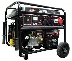 Benzin Stromerzeuger 6300 Watt Notstromaggregat Stromgenerator Starkstrom 400V