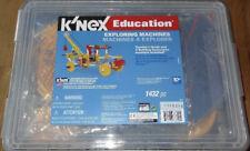 New - K'Nex Exploring Machines Education Construction Building Set Knex 78600.