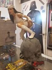 Elektra 'Assassin Resurrected' Premium Format Statue Sideshow #059 Used JC
