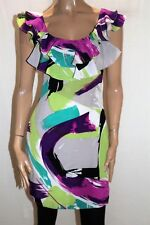 events collection Multi Frill Neckline Sleeveless Dress Size 8 LIKE NEW #AN02