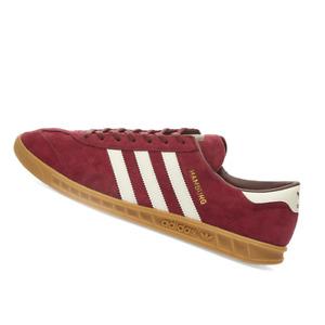 ADIDAS MENS Shoes Hamburg - Maroon, Off White & Gum - OW-FV1205