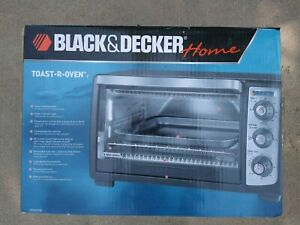 Black & Decker TRO-4070B Black - Toast-R-Oven Convection Toaster Oven New Sealed