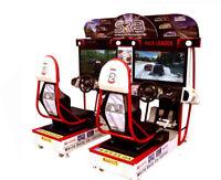 ARCADE SEGA RALLY 3 New  (SOLID STATE HARD DRIVE) PLUG AN PLAY last 1 discount!
