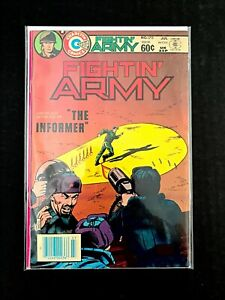 FIGHTIN' ARMY #170 CHARLTON COMICS 1984 FN/VF