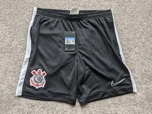 Nike Corinthians 2020 Player Issue Slim Training Travel Shorts sz M CD9454-010
